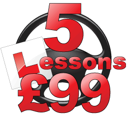 First 5 lessons for £99